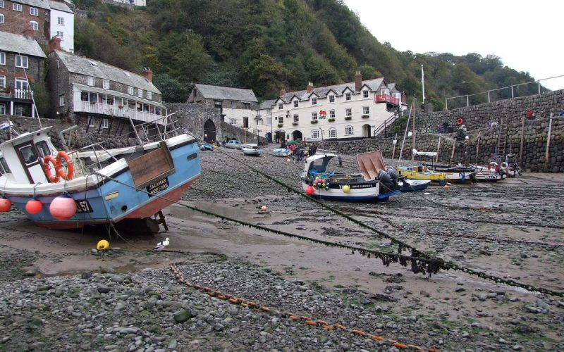 Clovelly, tides out!